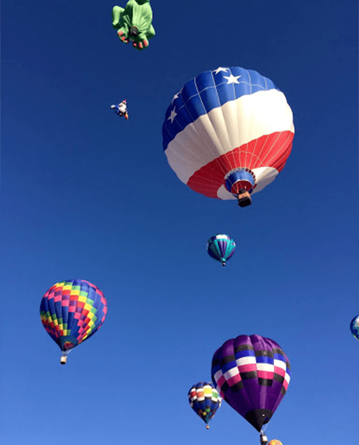Hot Air Balloons New Mexico - photo by Stephanie Klepacki