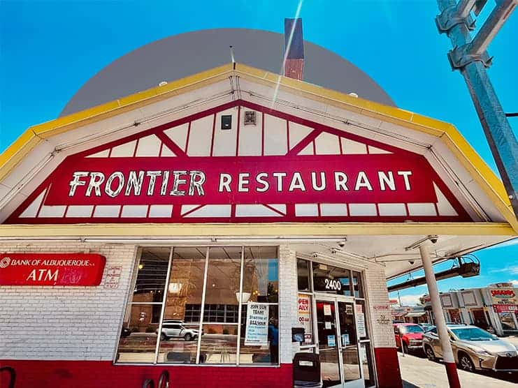 Let's go eat at Frontier!
