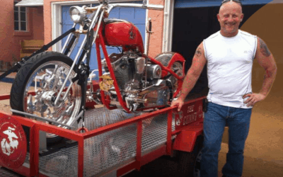 A Marine and his $120K USMC Motorcycle